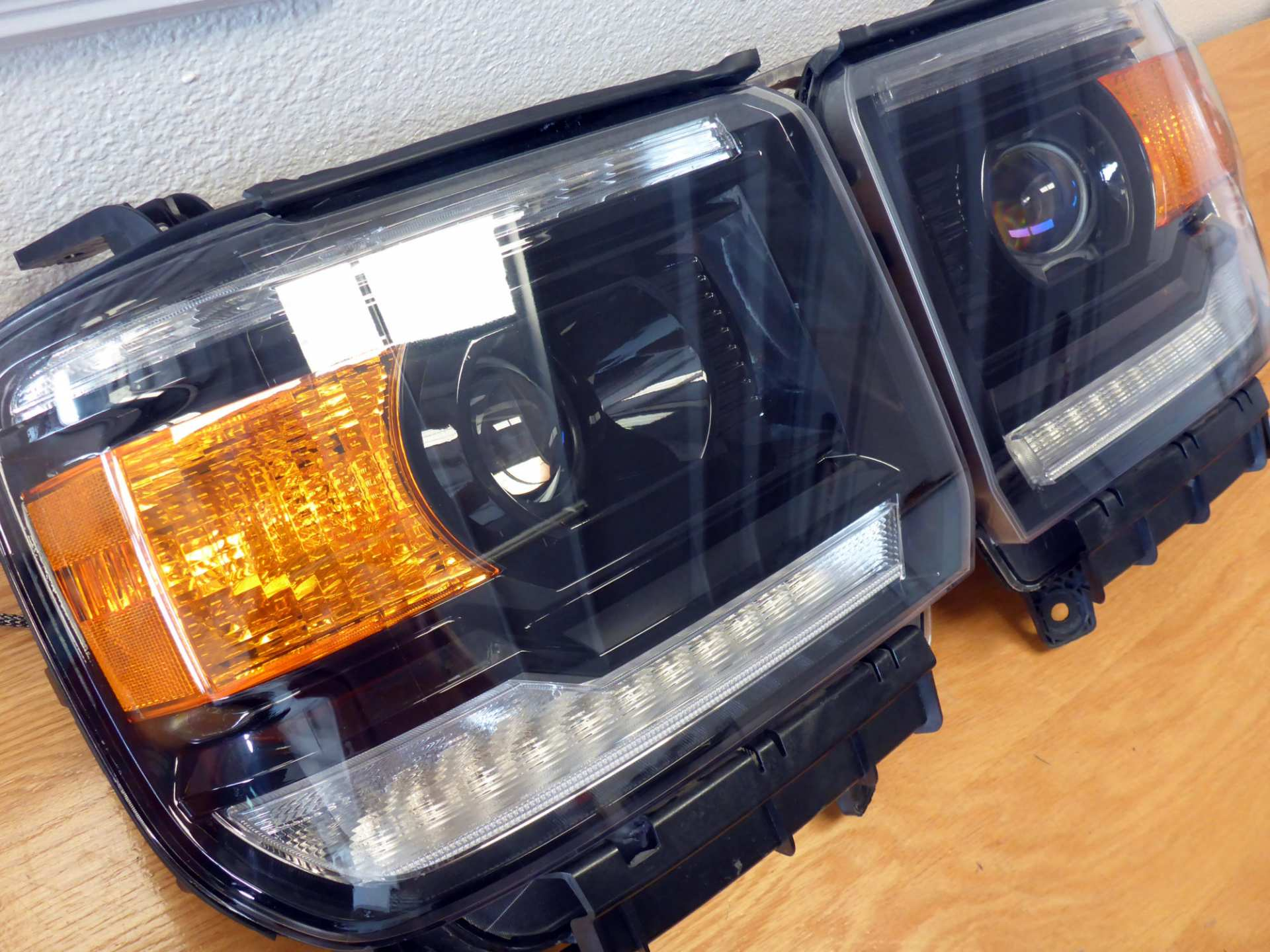 by13 gmc denali projector upgrade blackout