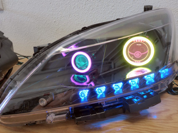 2013 Nissan Sentra Custom Headlights Tampa