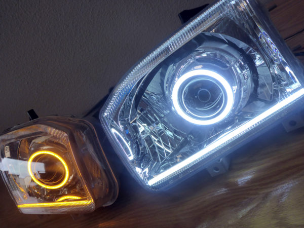 1999 Nissan Pathfinder Custom Headlights Tampa