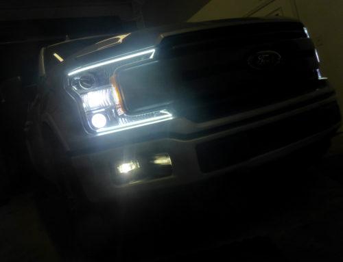 2018 Ford F150 Custom Headlight Retrofit Build
