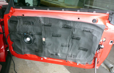 Mini Cooper Sound Deadening Tampa