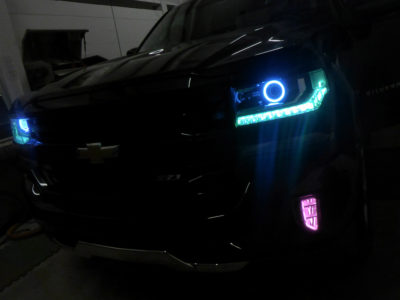 2017 Chevy Silverado 1500 Z71 Custom Headlights Tampa