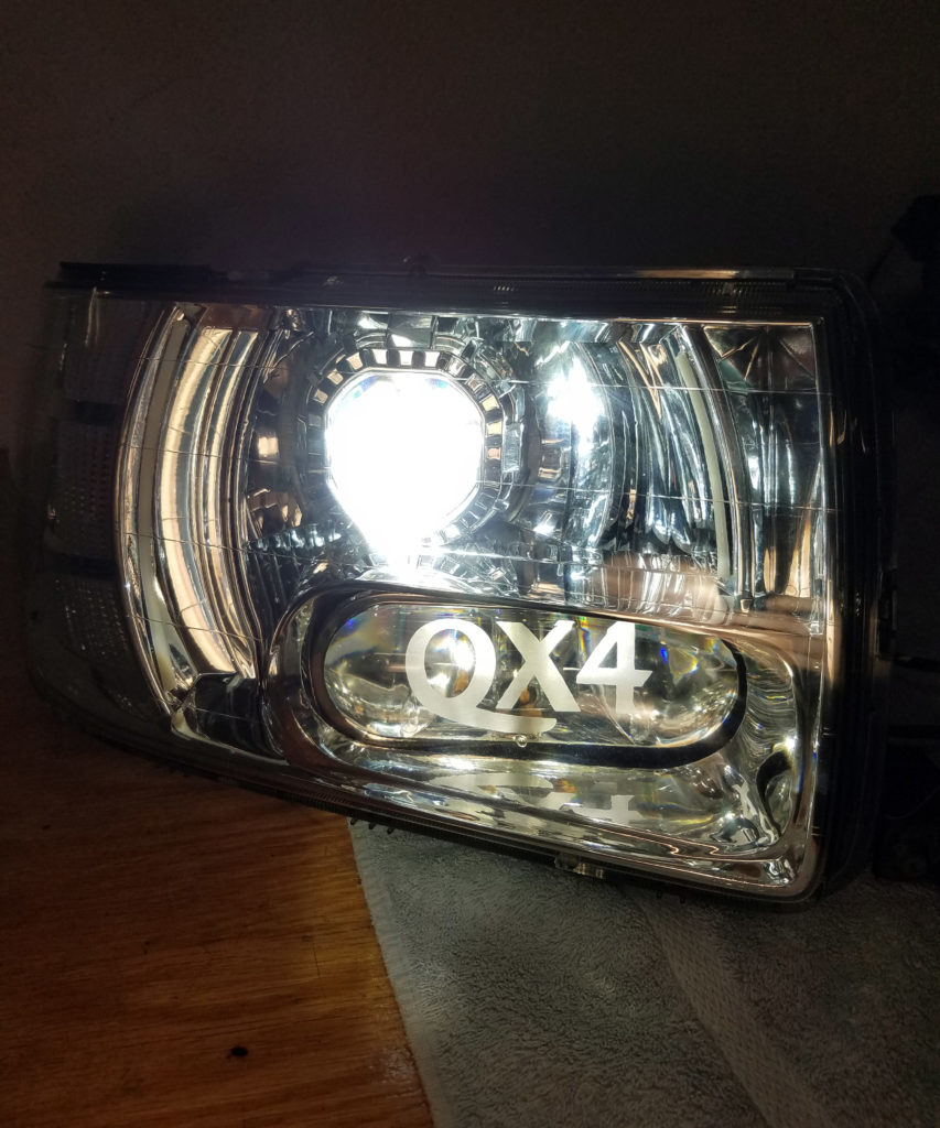 2001 Infiniti QX4 Custom Headlights Tampa