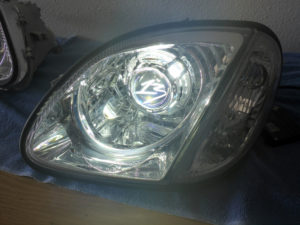 2002 Mercedes R170 AMG Custom Headlights Tampa