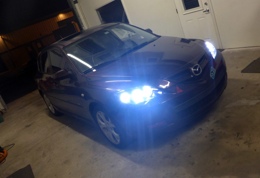 2007 Mazda3 Custom Headlights Tampa