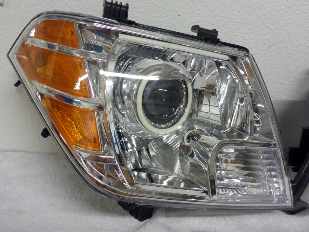 2013 Nissan Frontier Custom Headlights Tampa
