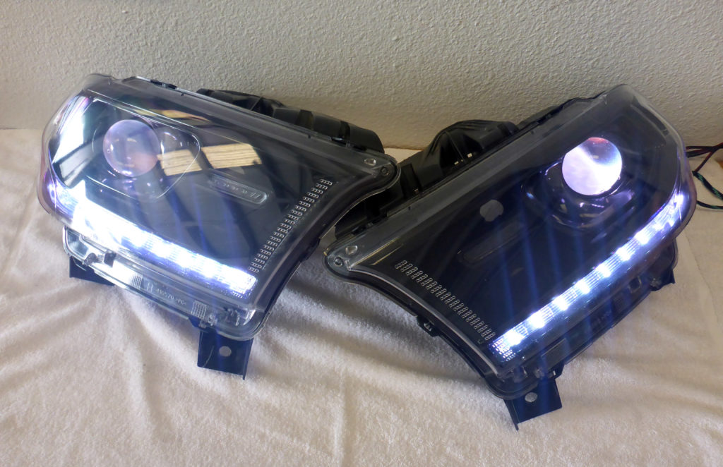 2014 Dodge Durango Custom Headlights Tampa