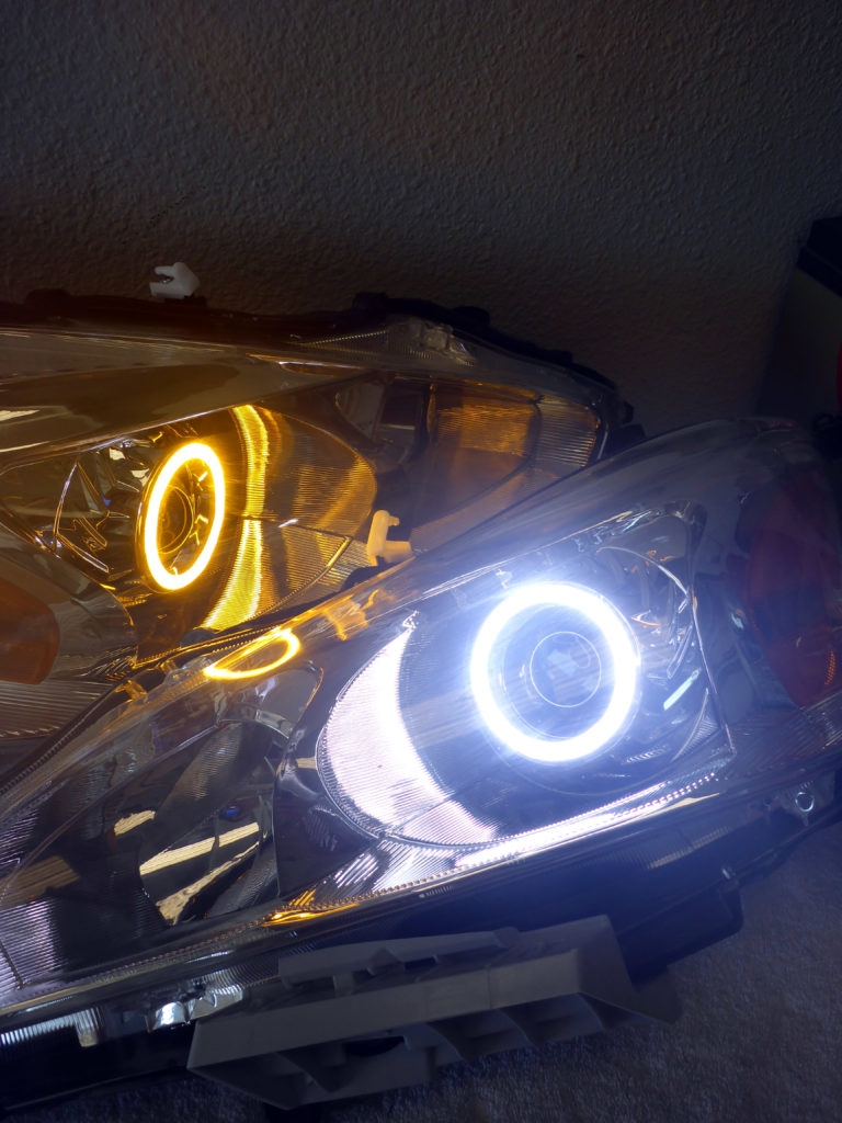 2014 Nissan Altima Custom Headlights Tampa