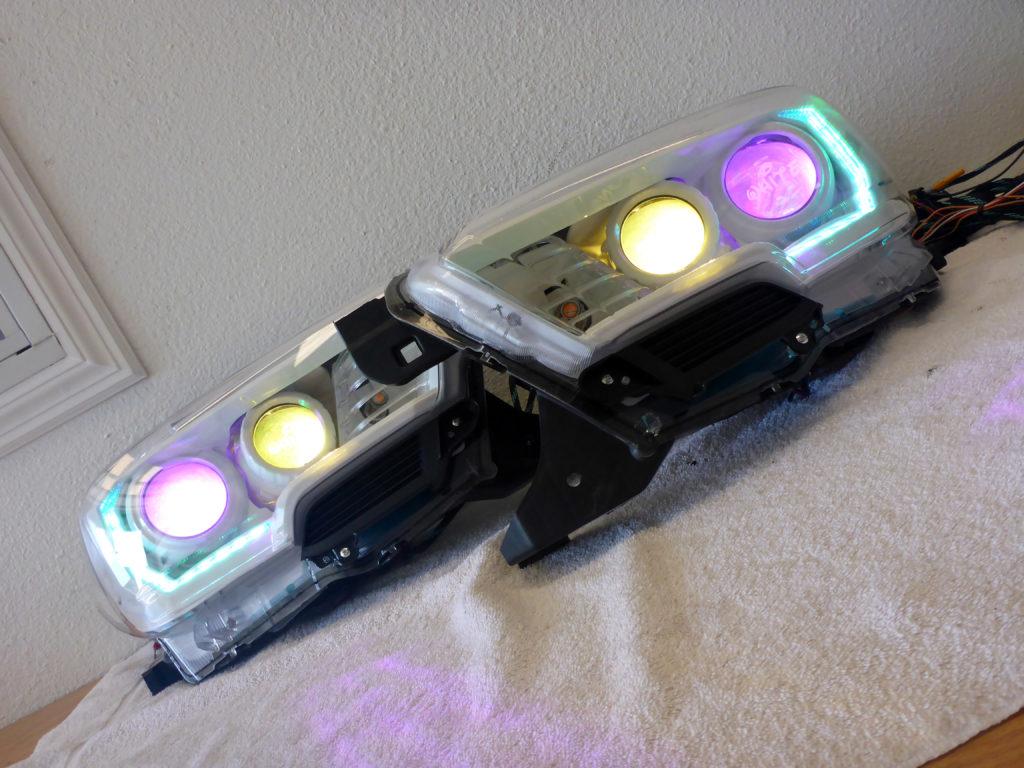 2016 Toyota Tacoma Custom Headlights Tampa