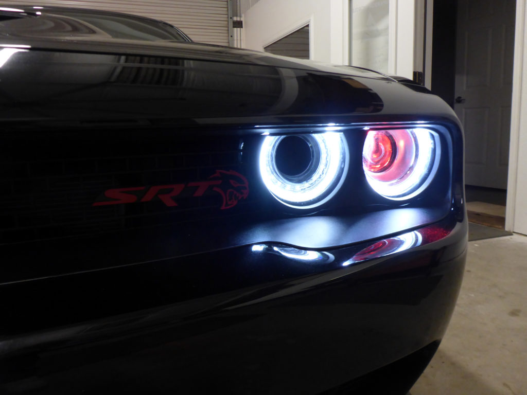 2017 Dodge Challenger Hellcat Custom Headlights Tampa
