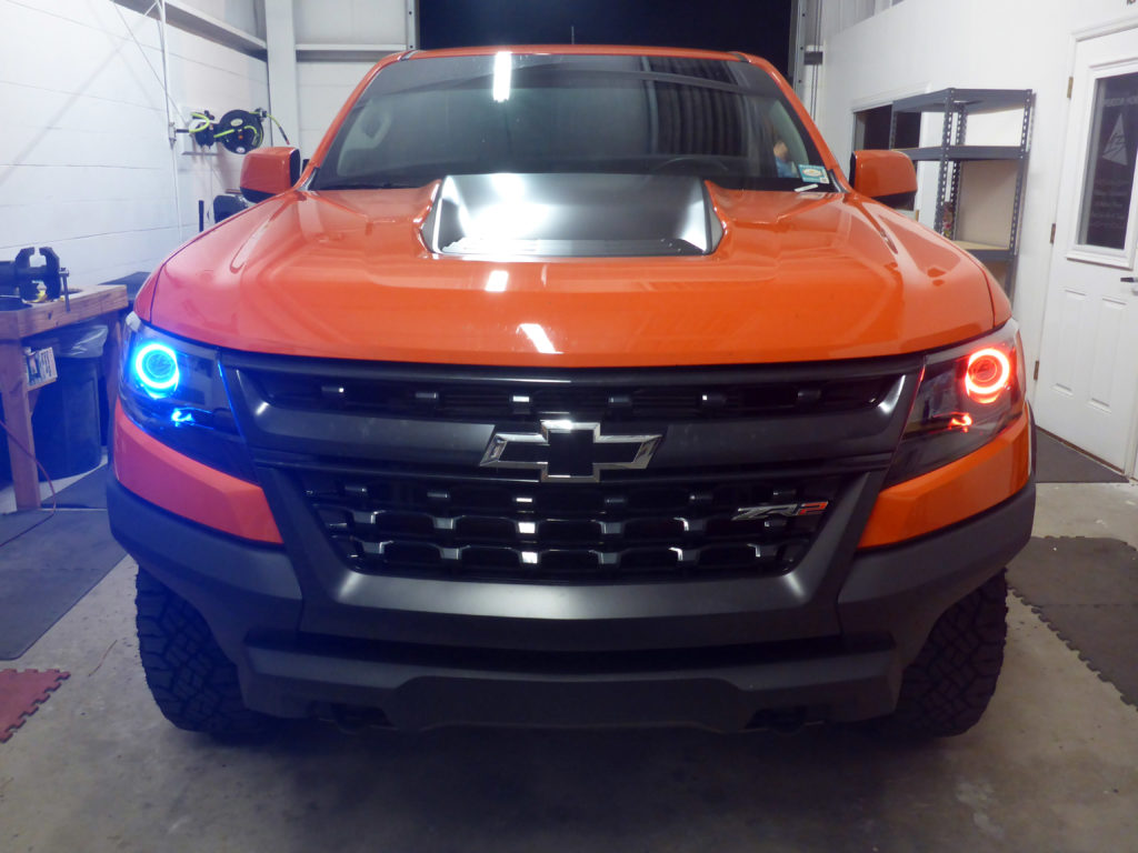 2019 Chevrolet Colorado ZR2 Custom Headlights Tampa