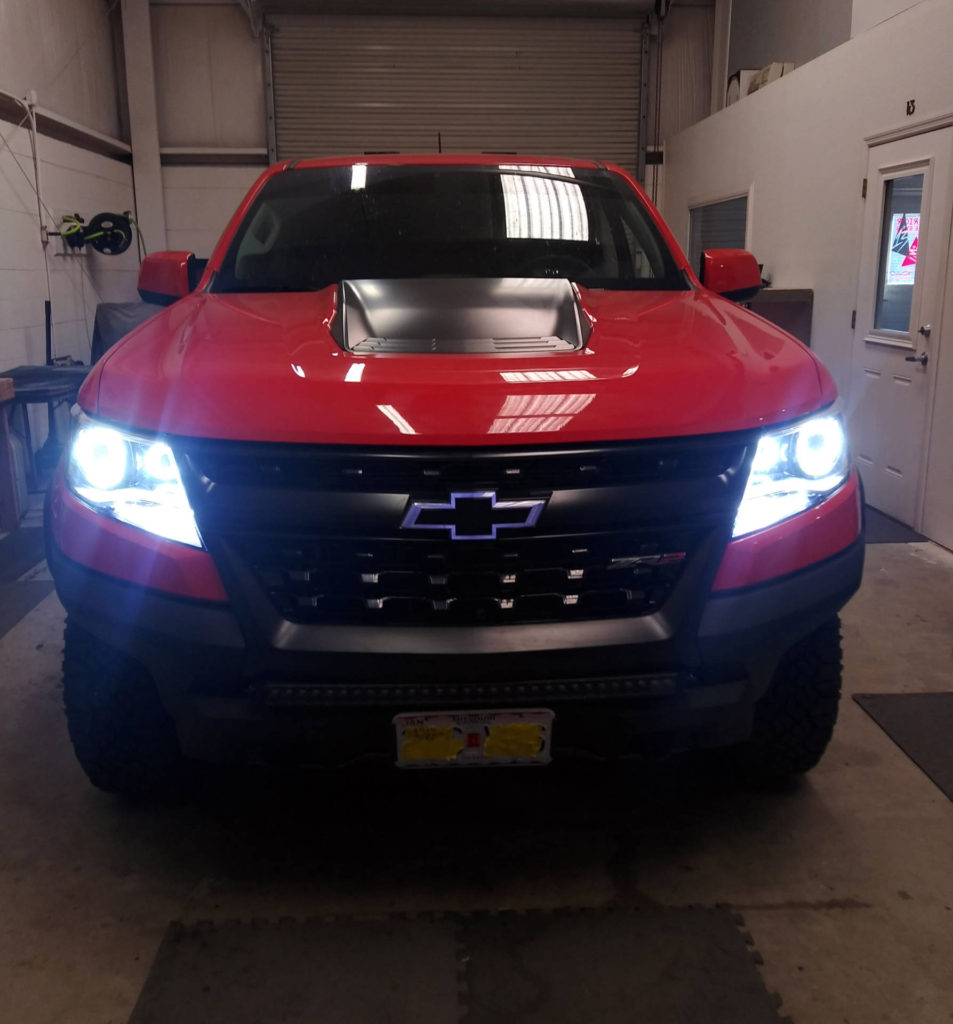 2019 Chevy Colorado ZR2 Custom Headlights Tampa