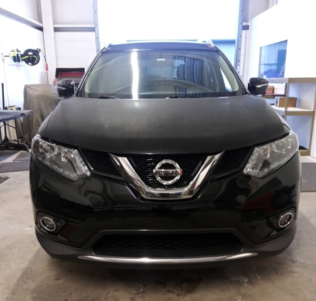 2015 Nissan Rogue retrofit headlight