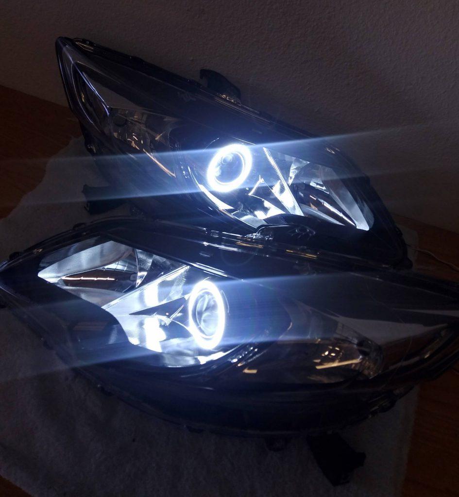 Honda Civic Si custom headlights Tampa
